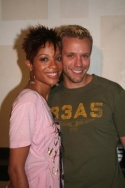 Tamyra Gray and Adam Pascal