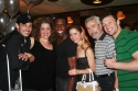 James Carpinello, Mary Testa, Andre Ward, Kerry Butler, Arturo E. Porazzi and Ryan Watkinson