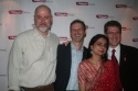 Dougas Rees, Mahira Kakkar, Richard Topol and Michael Hollinger