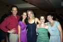 Director Hugh Sinclair with performers Lauren Seikaly, Brenna Palughi, Lynne Rosenberg and Katharine Heller
