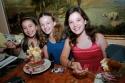 Nicole Bocchi, Devynn Pedell and Kathryn Faughnan