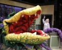 """Audrey II (the plant) and Julie Connors (Audrey) performing """"Suppertime"""""""