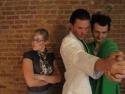 Kate Russell, Tom Pelphrey and Bryan Fenkart Photo