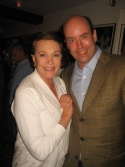 Julie Andrews with Director Christopher Ashley
