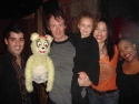 John Michael Dias (Jersey Boys) with Yellow Bear, Christian Anderson, his daughter Ruby, Angela Ai, Carla Renata