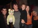 John Michael Dias (Jersey Boys) with Yellow Bear, Christian Anderson, his daughter Ru Photo