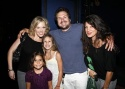 Robyn Hurder, John Melendez and Suzanna Melendez with their daughters Greta and Lily Belle