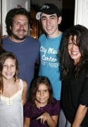 John Melendez, Max Crumm and Suzanna Melendez with Lily Belle and Greta