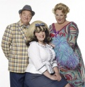 Mel Smith, Leanne Jones and Michael Ball