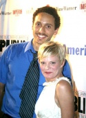 Elliot Villar and Martha Plimpton