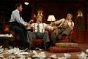 Douglas Sills as David O. Selznick, David Rasche as Victor Fleming and Matthew Arkin as Ben Hecht