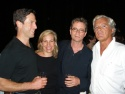 Josh Perl, Bay Street Theater founders Emma Walton, Steve Hamilton and James LaRocca