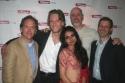 David Beach with Opus' Michael Laurence, Mahira Kakkar, Douglas Rees and Richard Topo Photo