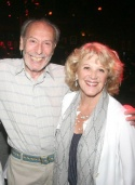 Broadway Director Melvin Bernhardt and Linda Lavin