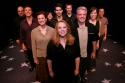 Emily Skinner and Ensemble Back row from left:  Ray Bokhour, Deone Zanotto, Joseph Cullinani, Robin de Jesus; Third Row from left:  Vincent D'Elia, Denis Lambert, Jane Brockman; Second Row from left:  Tina Stafford, Ken McMullen; Emily Skinner in front