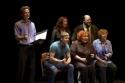 Malcolm Gets, Vicki Lewis, Jason Alexander, Andrew Samonsky, Kathy Garrick and Sue Goodman