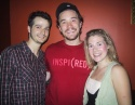 "l-r: cast members Bryan Fenkart, Tom Pelphrey (2006 Emmy Award Winner ""Guiding Light"" Photo"