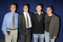 Aaron Sorkin (Playwright), Hank Azaria, Jimmi Simpson and Des McAnuff (Director)