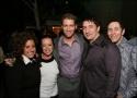 Marissa Jaret Winokur, Cindy Robinson, Matthew Morrison, Associate Choreographer Sean Photo
