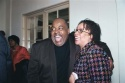 Reginald Vel Johnson with S. Epatha Merkeson