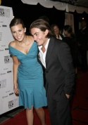 Maggie Grace and Kevin Zegers