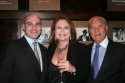 Michael Gyure (Friars Club Executive Director), Randie Levine-Miller and Ted Miller Photo