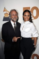 Neil Portnow and Alicia Keys