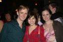 Scott Barnhardt (Scooter), Krysta Rodriguez (A Chorus Line) and Margot De La Barre Photo