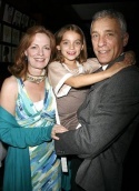Mark LaMura with wife Elizabeth MacLellan and daughter Gabrielle