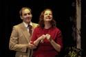 Chris Ceraso (as Gaev) and Susan Ferrara (as Lubov)