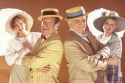 """(from left to right) JOANNE BORTS, MIKE BURSTYN, ROBERT ABELSON and LISA FISHMAN star in """"On Second Avenue."""""""