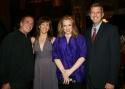 David Michaels, Alice Ripley, Emily Skinner and Keith McNutt