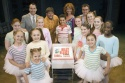 David Furnish, Craig Armstrong, Layton Williams, Jackie Clune, Lee Hall and the ballet girls