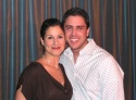 Stephanie J. Block with composer Scott Alan