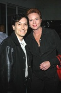 David Shine and Jane Lanier