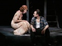 Lange and Slater in The Glass Menagerie