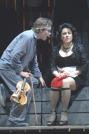 Edmund Bagnell as Tobias and Judy Kaye Photo
