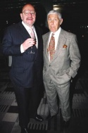 Jerry Della Femina with presenter Don Hewitt