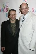 Librettist Joe DiPietro and director Christopher Ashley