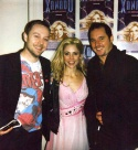 Darren Hayes and Steve Young with Kerry Butler Photo