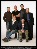 Left to right: John Crowley, Martin McDonagh, Jeff Goldblum, Zeljko Ivanek. Seated fr Photo