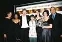 Lynne Meadow, Adriane Lenox, Brían F. O'Byrne, Carole Shorenstein Hays (Lead Producer), Cherry Jones, Heather Goldenhersh and Barry Grove