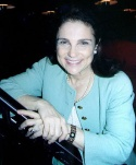 Tovah Feldshuh who was on hand with a preview bear of Golda Meir Photo