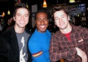 Scott Allgauer (Bare), Rashad Naylor (Hairspray) and Adam Fleming (Wicked-Chicago)