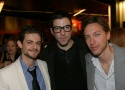 Ian Unterman, Zachary Quinto and Michael Friedman