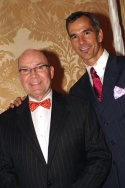 Jack O'Brien (Director) and Jerry Mitchell (Choreographer) Photo