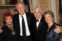Judy Davidson (wife to Gordon), John Lithgow (Honoree), Gordon Davidson (Honoree), and Carey Perloff (Artistic Director of ACT)
