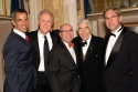 Jerry Mitchell, John Lithgow, Jack O'Brien, Gordon Davidson, and David Esbjornson (Artistic Director of Seattle Rep)
