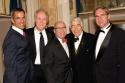 Jerry Mitchell, John Lithgow, Jack O'Brien, Gordon Davidson, and David Esbjornson (Ar Photo