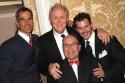 Jerry Mitchell, John Lithgow, Jack O'Brien, and Denis Jones Photo